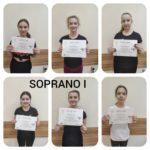 Mażoretki SOPRANO - grupa I